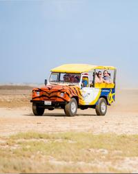 Aruba Off-Road Island Tour Including Natural Pool and Baby Beach