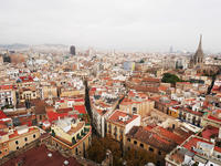 Barcelona Old Town and Markets Sky Walk