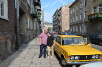 Private Jewish Heritage Tour of Warsaw by Retro Fiat*