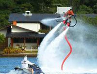 San Antonio Bay Flyboard Rental in Ibiza