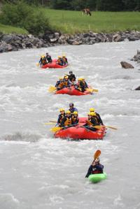 Lütschine River White-Water Rafting Experience from Interlaken