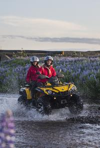 2 Hour 'Twin Peaks' ATV Quad Adventure from Reykjavik
