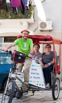 Bari Shore Excursion: Private Rickshaw City Tour