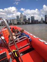 High-Speed Thames River RIB Cruise in London