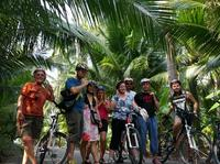 Countryside Bike Tour Including Floating Markets and Canal Boat Ride