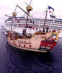Grand Cayman Pirate Ship Cruise Cayman Islands - Pirate ship cruise