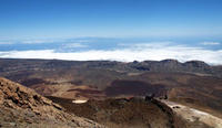 Mt Teide Crater Hike with Cable Car Ride