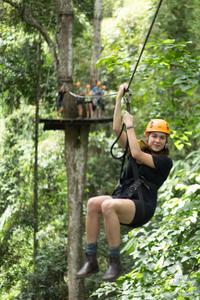 Chiang Mai Rainforest Canopy Zipline Adventure