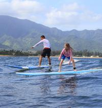 North Shore Surfing Lesson at Haleiwa Beach Park