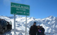 Half-Day Trip to Valle Nevado Including Cheese and Wine