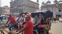 Luxury Rickshaw Tour of Old Delhi