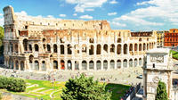 Skip-the-line Colosseum Forum & Trevi Fountain Tour in Rome with Gelato