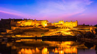 Private 4-Hour Open Jeep Night Tour of Jaipur City Lights
