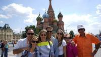 St Petersburg Shore Excursion: Visa-Free Moscow Private Day Tour from St Petersburg