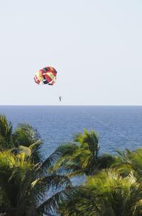 Orient Beach Parasailing in St Martin