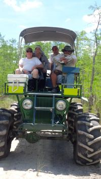 Private Buggy and Walking Tour Through the Everglades