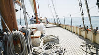 Schooner When And If Sunset Sail