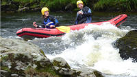 Rafting on the River Tay in 2-Person River Duckies in Aberfeldy
