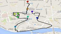 Bohemian Nighttime Bike Tour of Porto