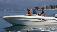 Boat Rental up to 4 People in Menton - No License Required