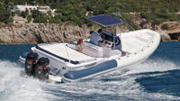 Rent a luxury rigid inflatable boat for up to 12 people in Saint-Tropez - License required