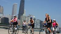 Aventura de bicicleta no Chicago Lincoln Park