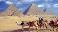 Giza pyramids Sphinx Sakkara and Memphis Day Tour from Cairo