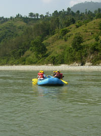 One Day Rafting Trip on the Trishuli River From Kathmandu