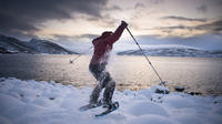 Snowshoeing fun in the Arctic*