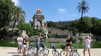 Barcelona City Morning Tour on Electric Bike