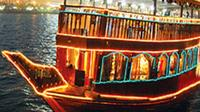 Dhow Cruise Including Dinner From Abu Dhabi