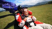 Tandem Skydive over South Island