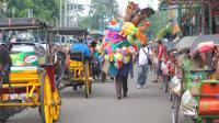 Morning Biking Tour at Historic Neighborhood Kotagede in Yogyakarta