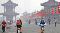 Xi'an Morning Tour: City Wall South Gate Opening Ceremony and Bicycle Ride