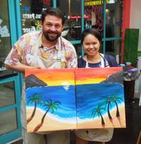 Island Art Party on Maui