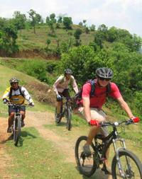 Mountain Biking Day Trip To Chobhar and Kirtipur Hilltop from Kathmandu