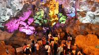 Halong day cruise to Thien Cung cave - Ba Hang village