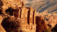 Private Tour: Petra Walking Tour to the Monastery with Lunch In Petra from the Dead Sea