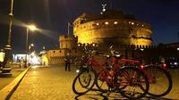 2-Hour Rome by Night Bike Tour with Pizza