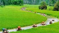 Full-Day Eco and Bike Tour to Hoa Lu and Tam Coc from Hanoi