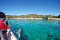 Blue Lagoon and Trogir Speedboat Tour from Split with Free Drinks and Snacks