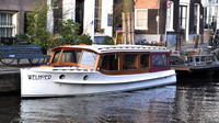 Private Guided Historic Amsterdam Canal Cruise in a Salon Boat