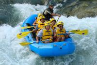 Full Day Rafting and Ziplining Adventure from Cusco