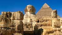 Private Day Tour to Giza Pyramids, Sphinx, Coptic Cairo and Saint Simon Church in Cairo