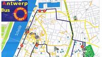 City tour map*