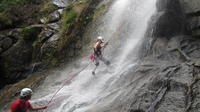 Waterfall Rappelling at Antelope Falls in Dangriga