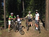 Bend Family Mountain Bike Tour