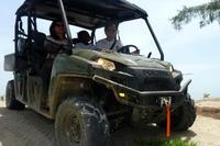 Punta Izopo Wildlife Refuge In Ranger 4x4 from Tela