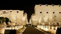 Temple of Karnak at Night*