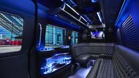 Private Ultra Luxury Mercedes Benz Sprinter Limo Service From San Juan Airport to Hotels Private Car Transfers